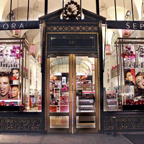 Retail Holiday Roll Outs, Sephora Holiday, Branded Design Solutions, Retail Holiday