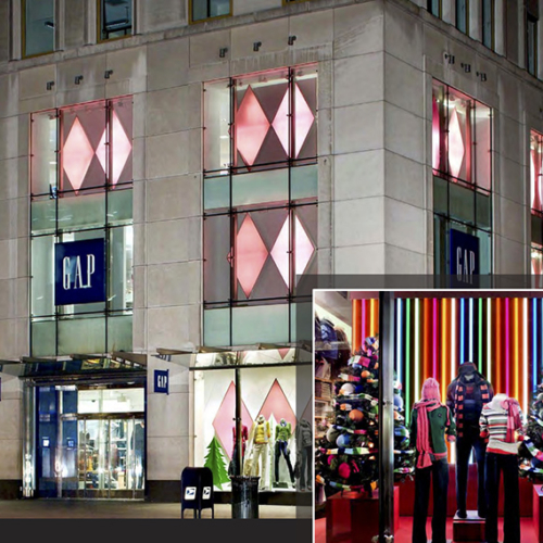 Retail Holiday Roll Outs, Gap Holiday, Branded Design Solutions, Retail Holiday, Sourcing Agent