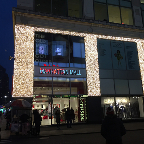 New York Christmas, Iconic Holiday, Shopping Center Holiday
