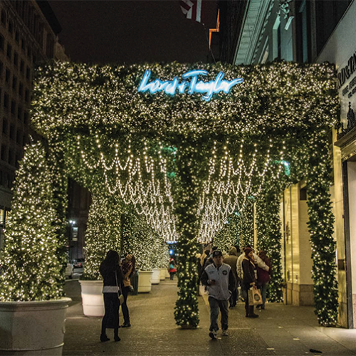 Lord and Taylor, New York Christmas, Iconic Holiday, Matthew Schwam